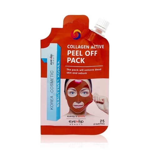 Очищающая маска-пленка Eyenlip Collagen Active Peel Off Pack