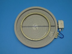 Конфорка для стеклокерамики 2200/1000W ASKO, GORENJE 428295