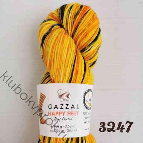 GAZZAL HAPPY FEET 3247, Желтый/синий/оранжевый