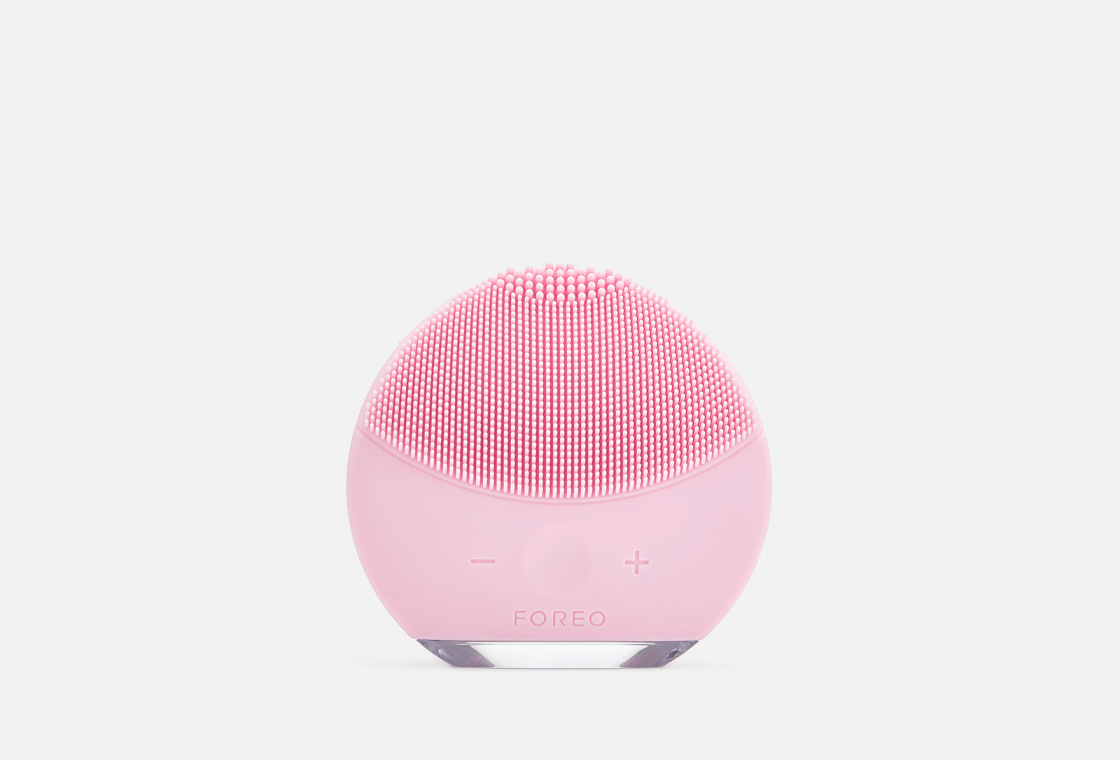 Foreo LUNA mini 2 Dual-Sided Face Brush For All Skin Types Pearl Pink