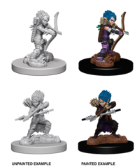 Pathfinder Battles Deep Cuts Unpainted Miniatures - Female Gnome Rogue