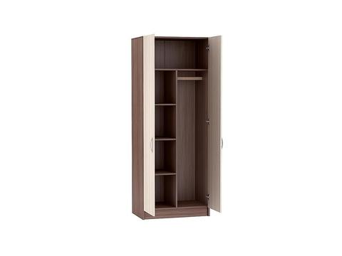 Шкаф двухдверный Бася ШК-553 Браво Мебель ясень шимо