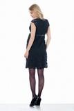 Платье для беременных 03718 чёрный