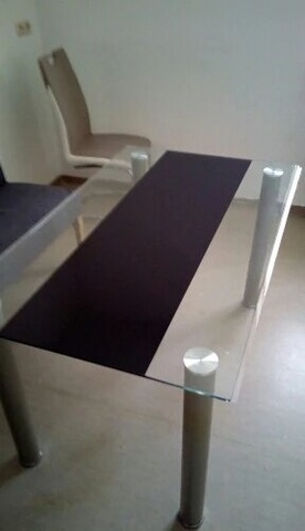 Прозрачная накладка на письменный стол ширина 60 см длина до 220см
