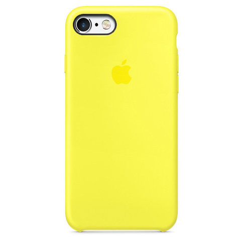 Чехол IP6/6S Silicone Case Canary Yellow