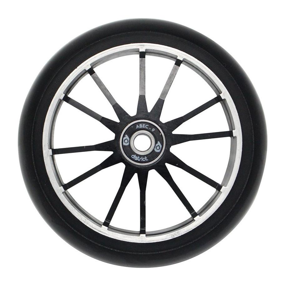 Колесо для самоката DISTRICT DG120 Wide Wheel Twin Core (Black)
