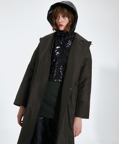 Пальто Марта dark green
