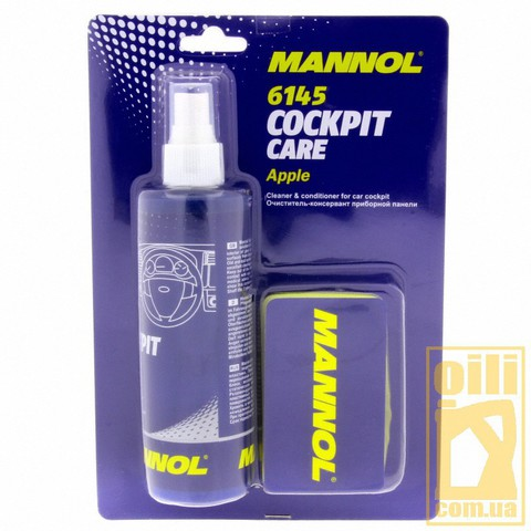 Mannol 6145 COCKPIT CARE APPLE 250мл