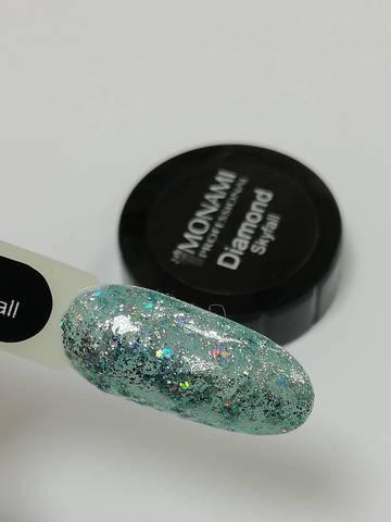 MONAMI Гель-лак Diamond Skyfall, 5 гр (платиновый)