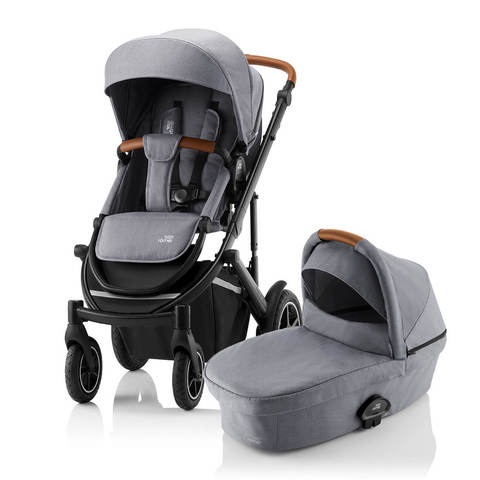 Коляска 2 в 1 Britax Smile 3 Frost Grey