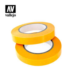 VALLEJO TOOLS: PRECISION MASKING TAPE 10MMX18M - TWIN PACK