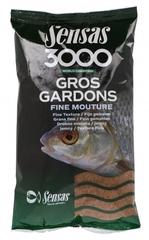 Прикормка Sensas 3000 GROS GARDONS Fine Mouture 1кг