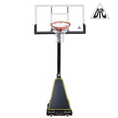 Баскетбольная мобильная стойка DFC STAND54G 136x80cm стекло