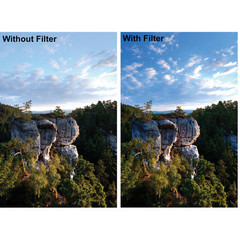 Поляризационный фильтр Fujimi Pro MC CPL на 72mm