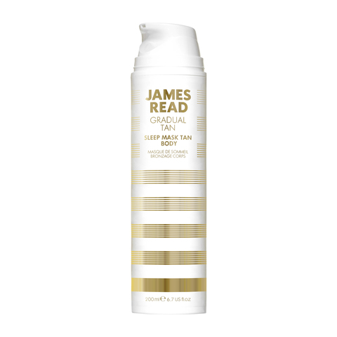 James Read Gradual Tan Sleep Mask Tan Body Ночная ухаживающая маска-автозагар для тела