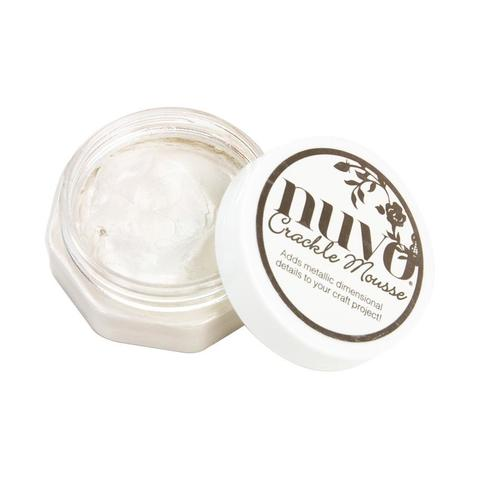 Мусс для декора кракле Nuvo Crackle Mousse - Russian White
