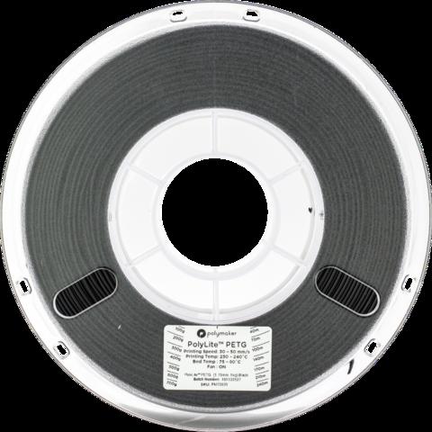 PolyMaker PolyLite PETG, 1.75 мм, 1 кг, Черный