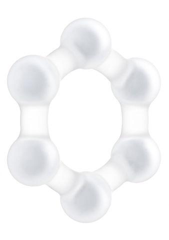 Прозрачное эрекционное кольцо No.82 Weighted Cock Ring