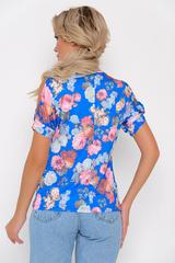 """<p>Отличное решение для любого торжества! Особую оригинальность модели придают разрезы на рукавах в виде капли. Блуза отлично сочетается с трикотажными брюками """"Катрин"""" из осенней коллекции. Длины: (46-48р-58,50-52р-59).</p>"""
