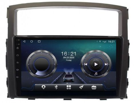 Магнитола для Mitsubishi Pajero 4 (06-19) Android 10 6/128GB IPS DSP 4G модель CB 3046TS10