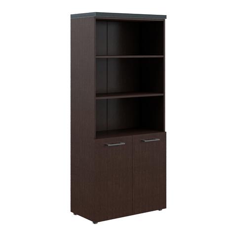 THC 85.5 Шкаф комбинированный глухими дверьми и топом (850х430х1930)