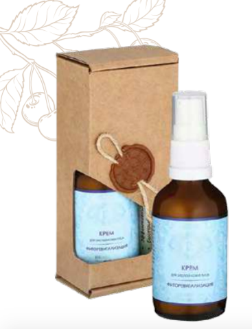 «Фиторевитализация» натуральный крем для зрелой кожи лица, 50 мл