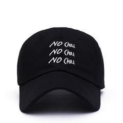 Кепка NO CHILL (Бейсболка) черная