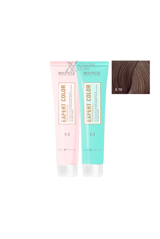 Expert Color Hair Color Cream 8/76 светло-русый коричнево-фиолетовый 100 мл