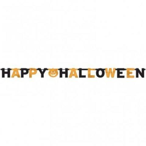 Гирл-буквы Happy Halloween Тыква 230см/A