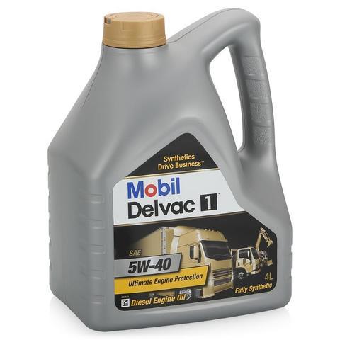 Масло моторное синтетическое (4л) / MOBIL DELVAC 1 5W-40 4L АРТ: 148368