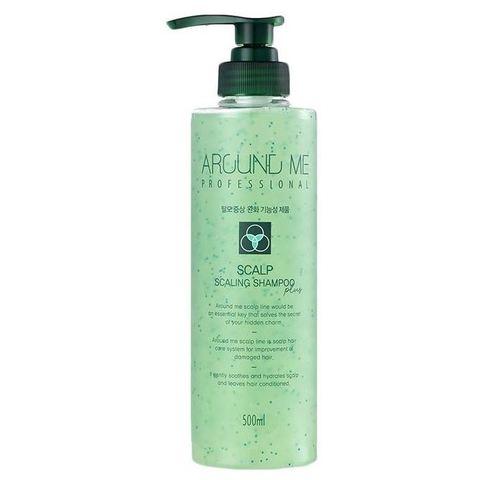 WELCOS Around Me S Шампунь Around Me Scalp Scaling Shampoo plus 500мл