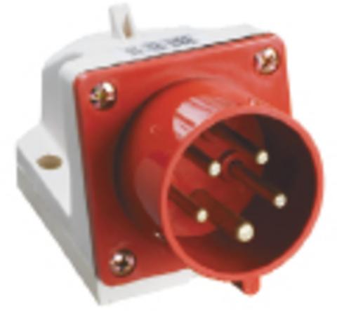 Вилка 515 стационарная 3Р+РЕ+N 16А 380В IP44 TDM