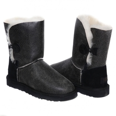 UGG Bailey Button Bomber Black