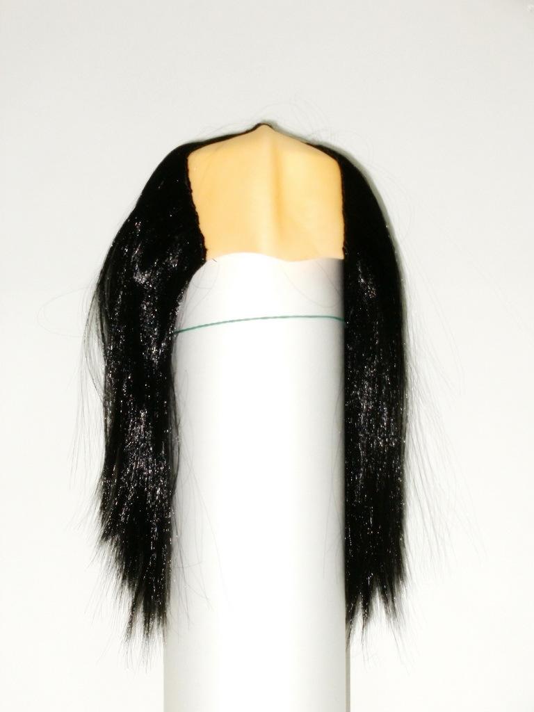 Парики с залысиной и черными волосами