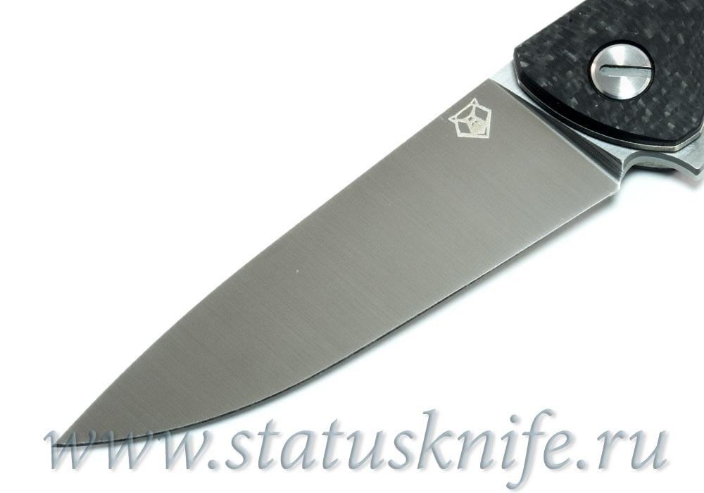 Нож Широгоров Ф3 CowryX Карбон 3D подшипники - фотография