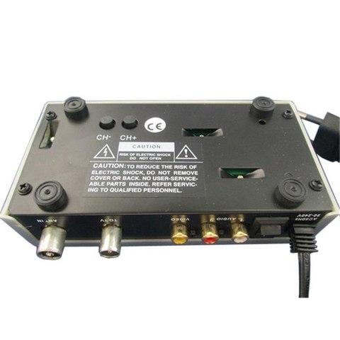 Преобразователь из 3-х Тюльпанов RCA AV - в антенный ВЧ сигнал  модулятор