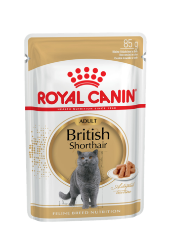 Royal Canin British Shorthair Adult (в соусе) 85 г * 12 шт.