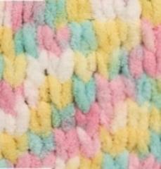 Пряжа Alize Puffy Color цвет 5862