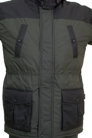 Костюм зимний с полукомбинезоном арт Эверест(ткань мембранная Таслан) Вожак