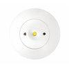 Аварийный круглый светильник встраиваемый в подвесной потолок Starlet White LED SO Intelight – вид в потолке