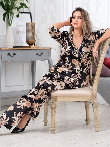 Комплект женский с брюками  Mia-Amore Версаче Голд  VERSACHI GOLD 9926