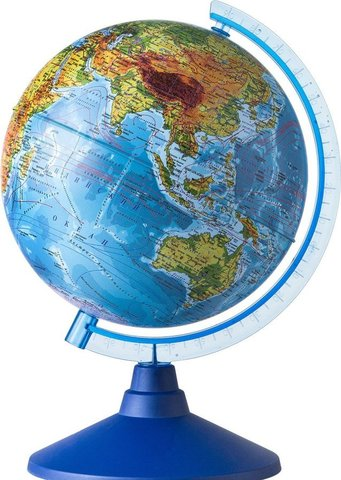 Qlobus fiziki 15sm