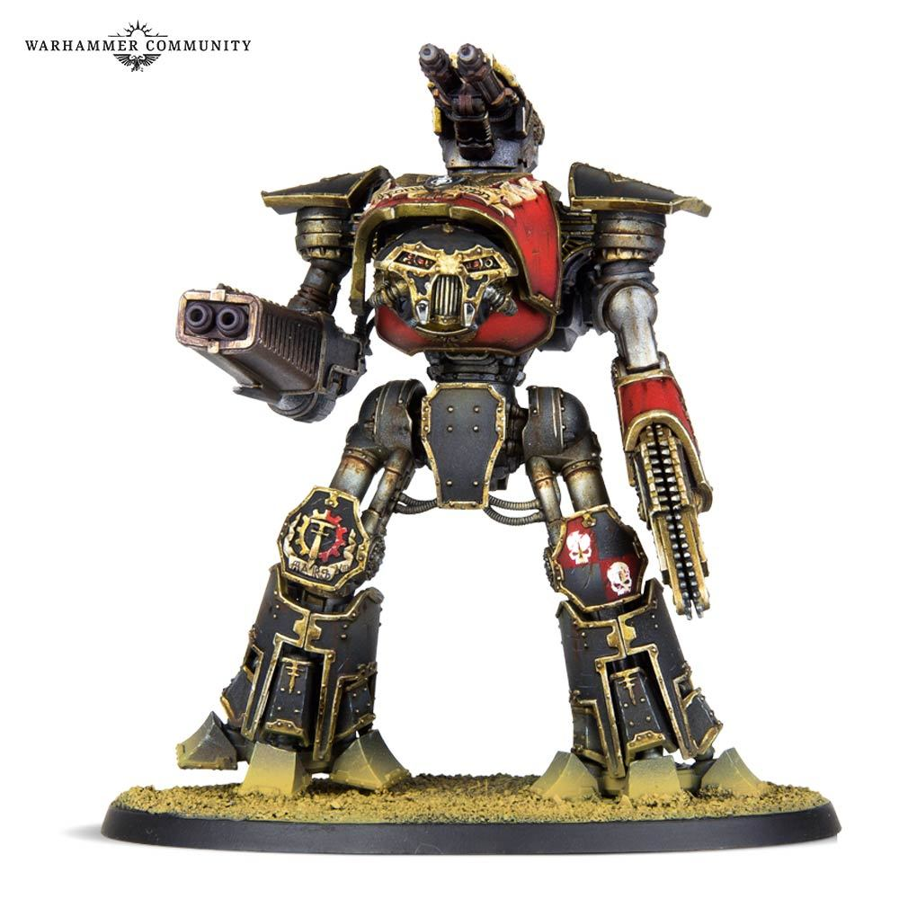 Reaver Titan with Melta Cannon & Chainfist