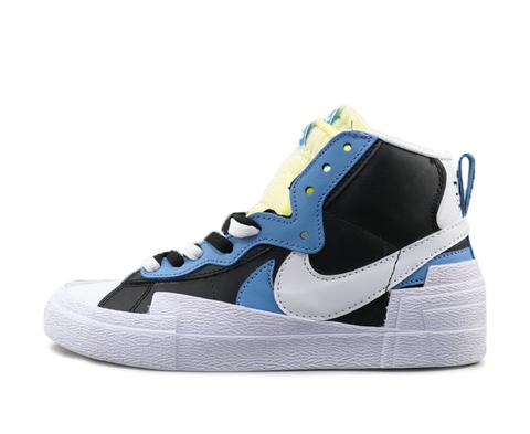 Sacai x Nike Blazer Mid 'Black/University Blue'