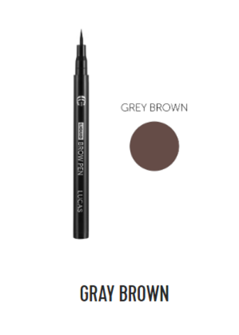 Фломастер для бровей Liquid Brow Pen CC Brow (серо-коричневый)