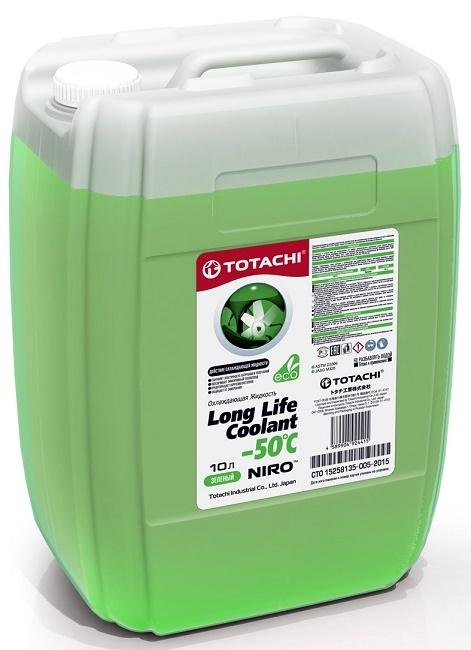 NIRO™ LONG LIFE COOLANT GREEN -50 C TOTACHI Антифриз зеленый (10 Литров)