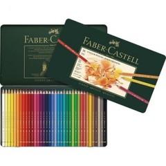 Карандаши цветные Faber-Castell Polychromos 36 цветов в металической коробке