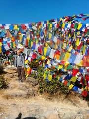 Тибетские флажки лунгта большие хлопковые