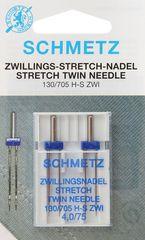 Фото: Игла Twin stretch 130/705 H-S ZWI DMS №2x4.0/75