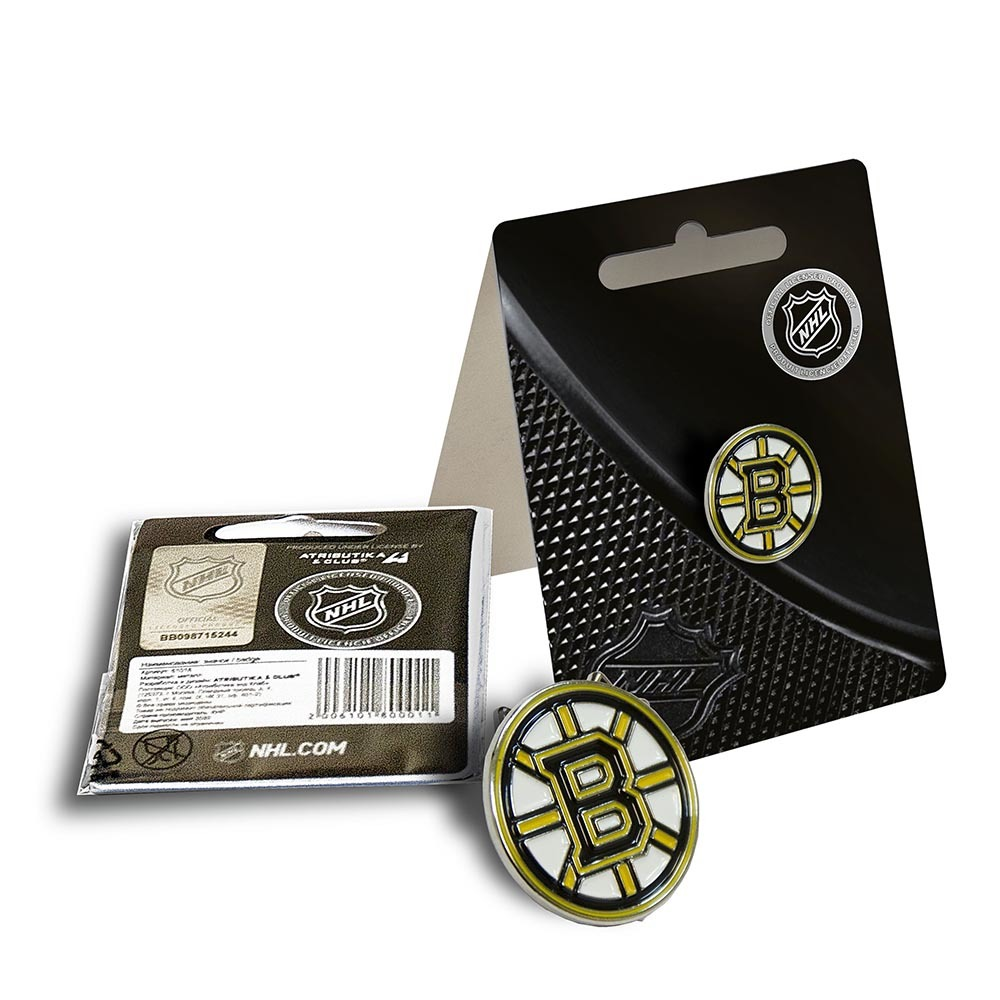 Значок NHL Boston Bruins